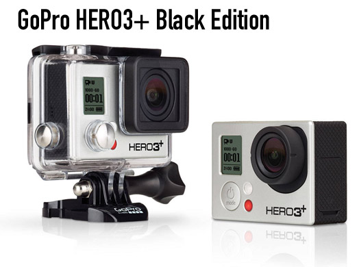 Nuova GoPro Hero 3+ Black Edition