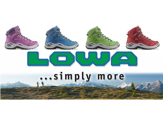Lowa Renegade Multicolor for a Colorful Summer 2013