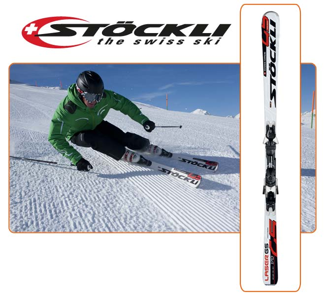 Stöckli Gs with binding Z12 Salomon
