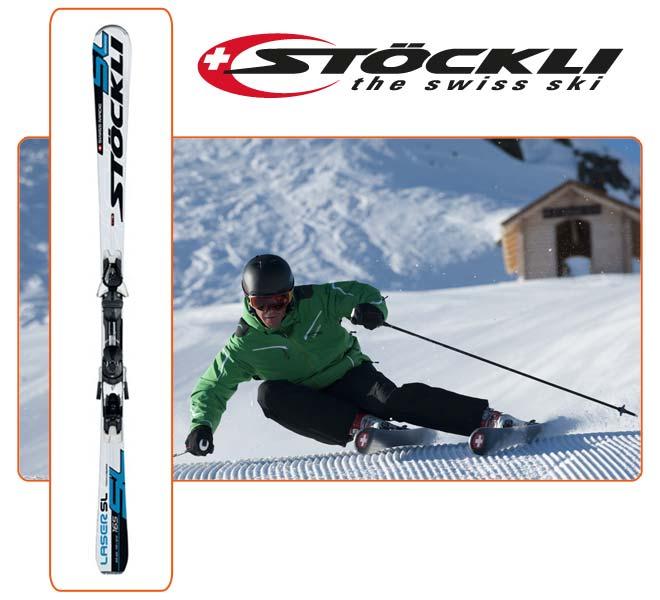 Skis Stöckli SL With Binding Z12 Salomon